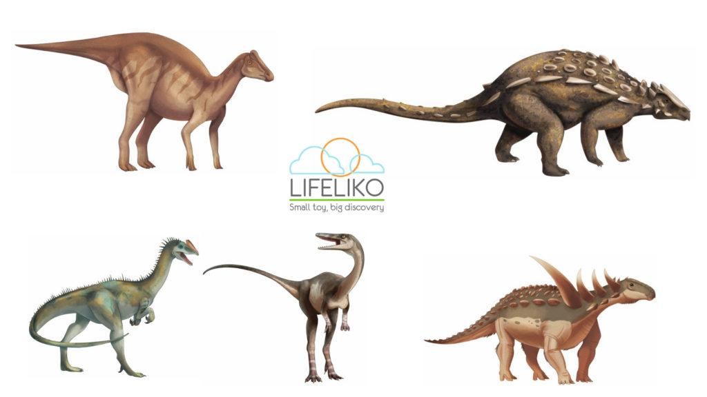 Dinosaur Artworks for New Lifeliko Product